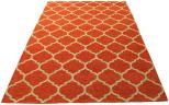 deco rug orange