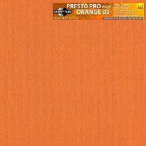 Presto PLUS Orange carpet tile 03