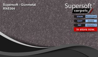 super soft supersoft carpet RN5364 gunmetal