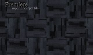 Premiere carpet tile Grey