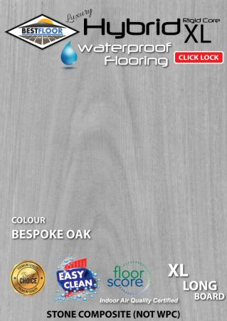 hybrid bespoke oak grey cheapest best hybrid floor