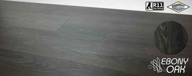Luxury ebony oak grey ultimate vinyl planks r11 slip rating