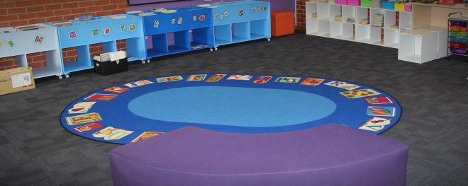 gowrie canberra primary school CUSTOM CARPET TILE 2