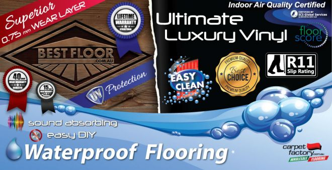 best waterproof flooring